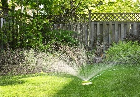Manual sprinkler